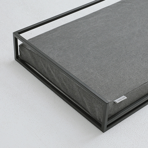 DOUBLE BED_CHARCOAL